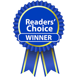readers choice blue ribbon