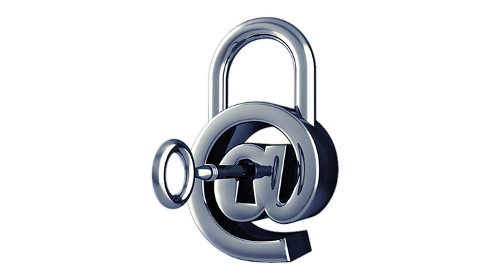 email security lock